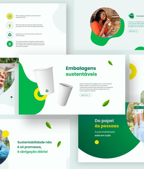 Posicionamento sustentável BO Packaging Brasil