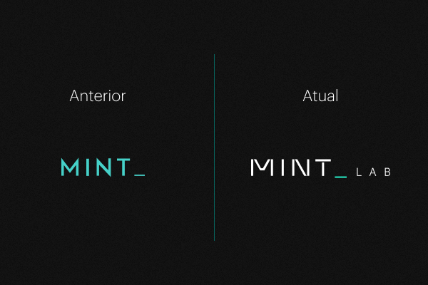 Nova identidade visual do MINT Lab